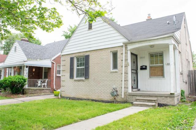 10645 Wayburn St, Detroit, MI 48224 (MLS #R219049432) :: Berkshire Hathaway HomeServices Snyder & Company, Realtors®