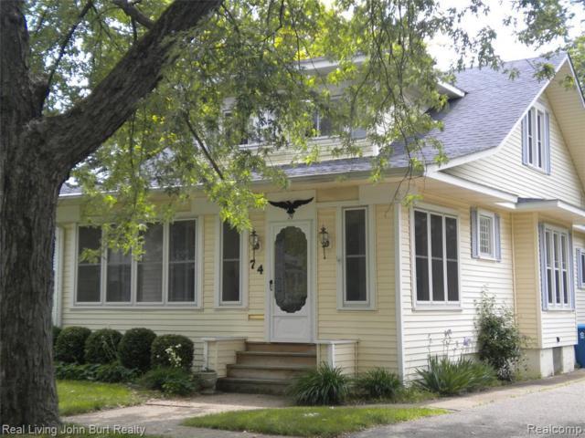 74 Park St, Oxford, MI 48371 (MLS #R219057009) :: Berkshire Hathaway HomeServices Snyder & Company, Realtors®