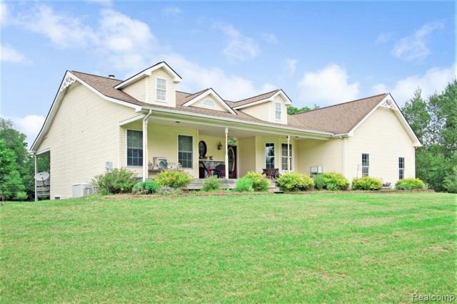 2160 Gannon Rd, Howell, MI 48855 (MLS #R219058090) :: Berkshire Hathaway HomeServices Snyder & Company, Realtors®