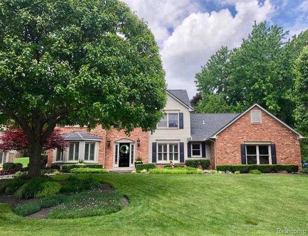20260 Woodbend Dr, Northville, MI 48167 (MLS #R219058536) :: The Toth Team