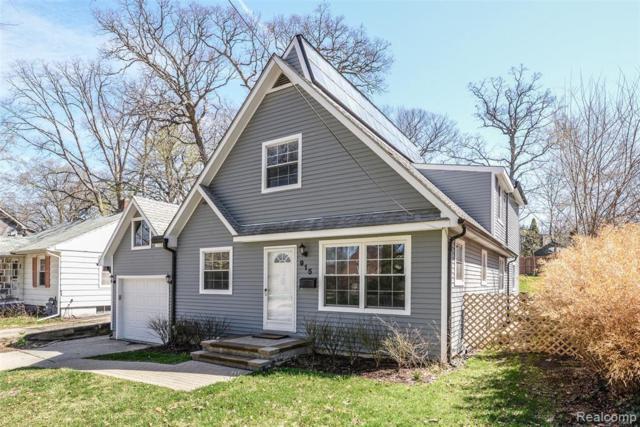 915 S 7th St, Ann Arbor, MI 48103 (MLS #R219059507) :: Berkshire Hathaway HomeServices Snyder & Company, Realtors®