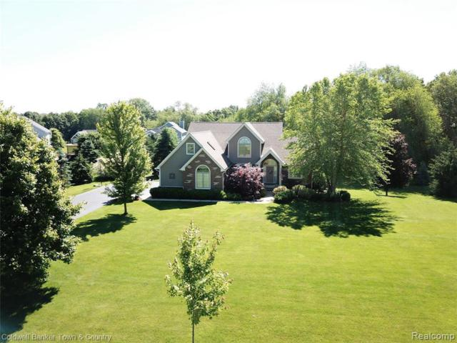 316 Abby Brook Ln, Howell, MI 48843 (MLS #R219060456) :: The Toth Team