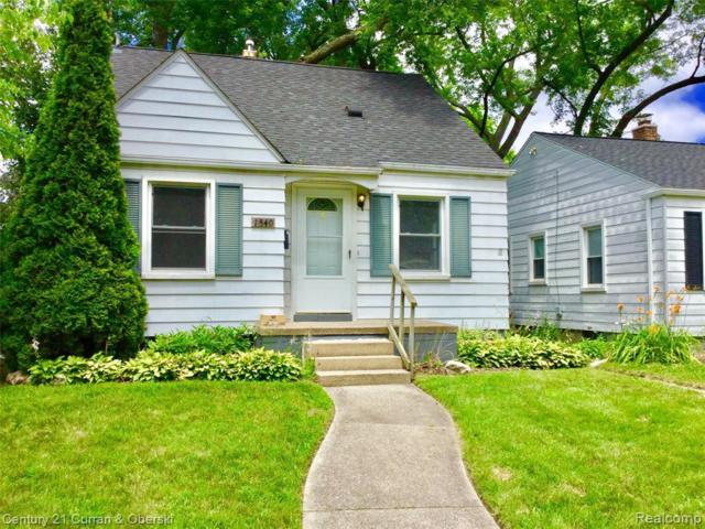 1340 Fielding St, Ferndale, MI 48220 (MLS #R219067956) :: The Toth Team