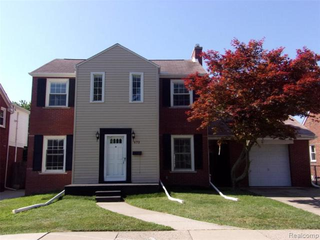 973 Highland Ave, Lincoln Park, MI 48146 (MLS #R219068144) :: The Toth Team