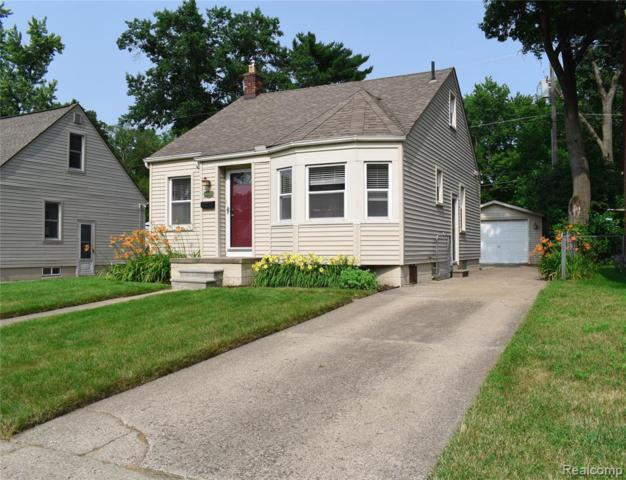 724 Allen St, Ferndale, MI 48220 (MLS #R219068255) :: The Toth Team