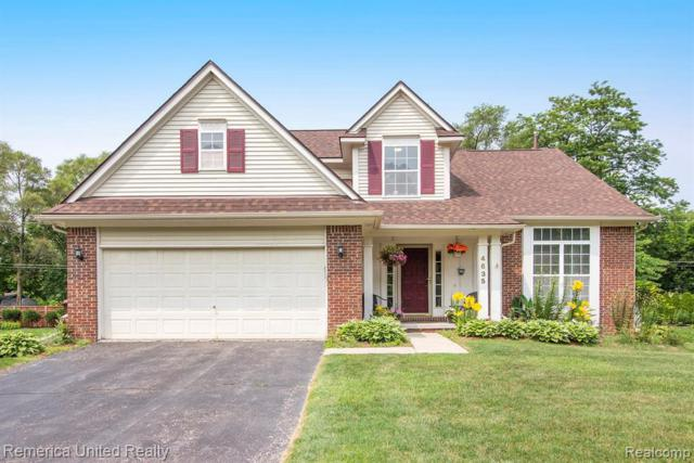 4635 Commerce Woods Dr, Commerce, MI 48382 (MLS #R219069410) :: The Toth Team