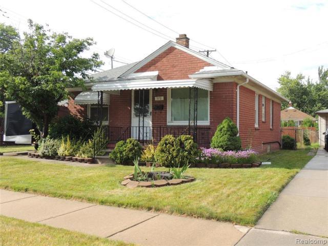 970 Capitol Ave, Lincoln Park, MI 48146 (MLS #R219070041) :: Berkshire Hathaway HomeServices Snyder & Company, Realtors®
