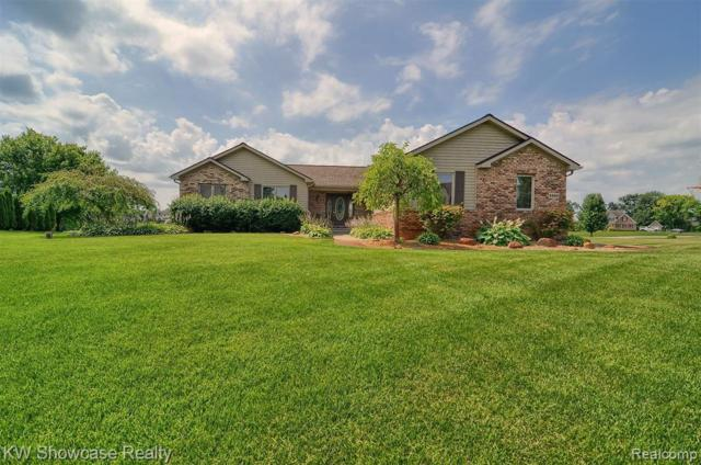 8580 Glen Haven Dr, Howell, MI 48843 (MLS #R219070120) :: The Toth Team