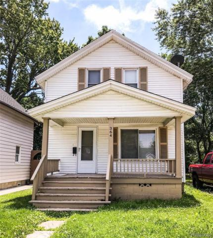 364 Central Ave, Pontiac, MI 48341 (MLS #R219070425) :: Berkshire Hathaway HomeServices Snyder & Company, Realtors®