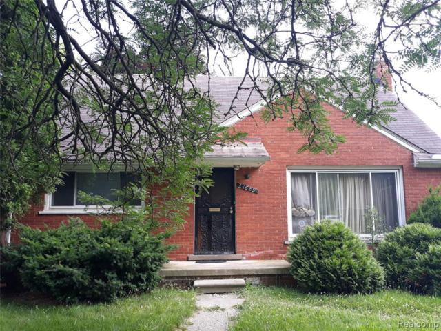 21689 Bennett St, Detroit, MI 48219 (MLS #R219070843) :: Berkshire Hathaway HomeServices Snyder & Company, Realtors®