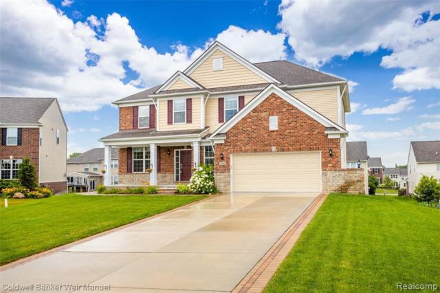 24980 Carriage Ln, South Lyon, MI 48178 (MLS #R219070870) :: Berkshire Hathaway HomeServices Snyder & Company, Realtors®