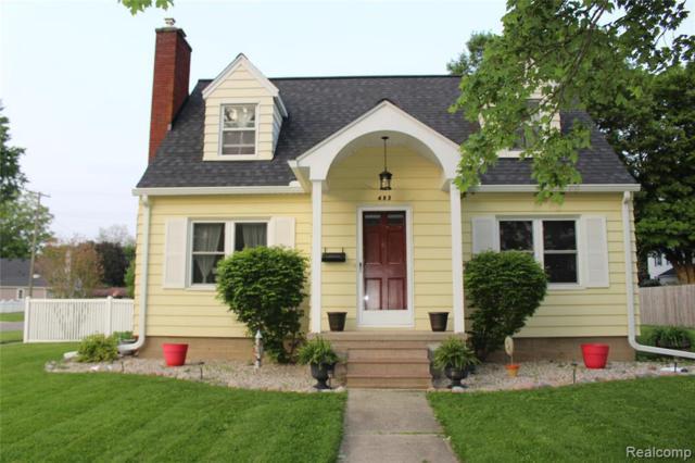 403 S Tompkins St, Howell, MI 48843 (MLS #R219072374) :: Berkshire Hathaway HomeServices Snyder & Company, Realtors®