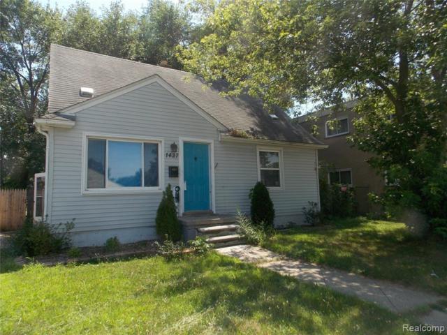 1437 W 9 Mile Rd, Ferndale, MI 48220 (MLS #R219072377) :: Berkshire Hathaway HomeServices Snyder & Company, Realtors®