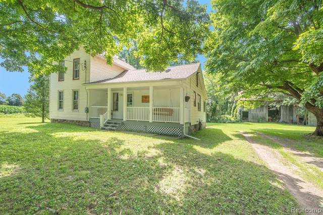 4615 Bruff Rd, Fowlerville, MI 48836 (MLS #R219076018) :: Berkshire Hathaway HomeServices Snyder & Company, Realtors®