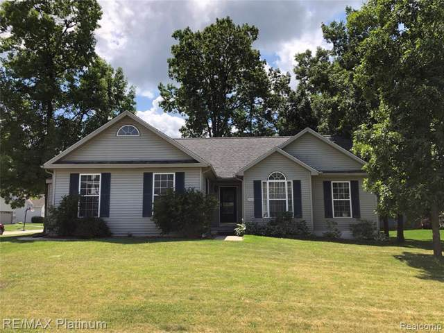 2484 Hickory Circle Drive, Howell, MI 48855 (MLS #R219080240) :: The Toth Team