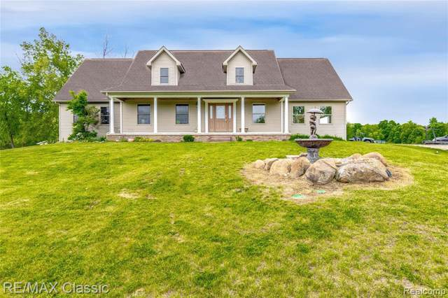 5765 Stanley Rd, Columbiaville, MI 48421 (MLS #R219082614) :: Berkshire Hathaway HomeServices Snyder & Company, Realtors®