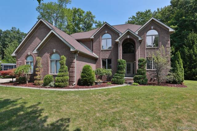 26725 Whispering Willows Dr, New Boston, MI 48164 (MLS #R219083029) :: The Toth Team