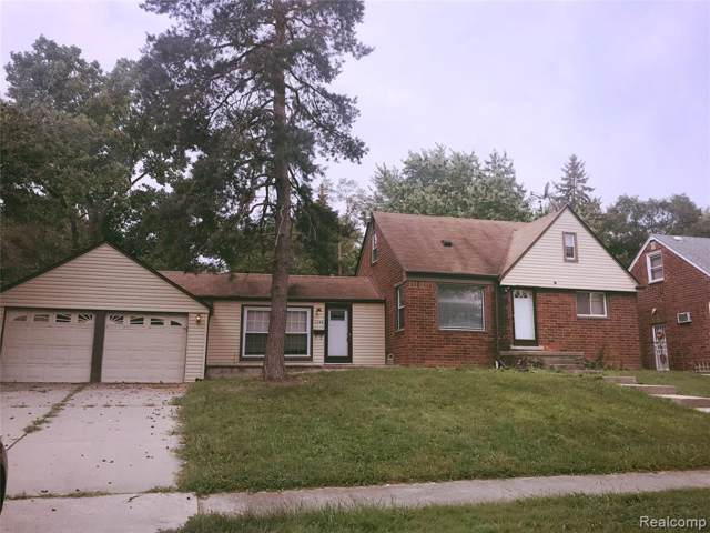 1156 Colonial Dr Dr, Inkster, MI 48141 (MLS #R219083084) :: The Toth Team