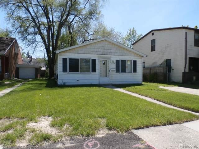 12736 Georgiana Ave, Warren, MI 48089 (MLS #R219085203) :: Berkshire Hathaway HomeServices Snyder & Company, Realtors®