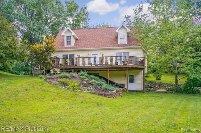 4088 Pardee Lake Rd, Howell, MI 48843 (MLS #R219085496) :: Berkshire Hathaway HomeServices Snyder & Company, Realtors®