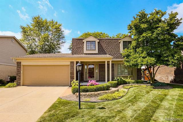 6671 Brookshire Dr, Canton, MI 48187 (MLS #R219085501) :: The Toth Team