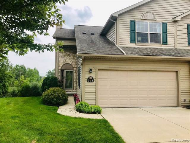 348 Stratford Ln, Lake Orion, MI 48360 (MLS #R219085969) :: The Toth Team