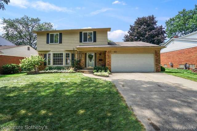 521 Leicester St, Plymouth, MI 48170 (MLS #R219087346) :: Tyler Stipe Team | RE/MAX Platinum
