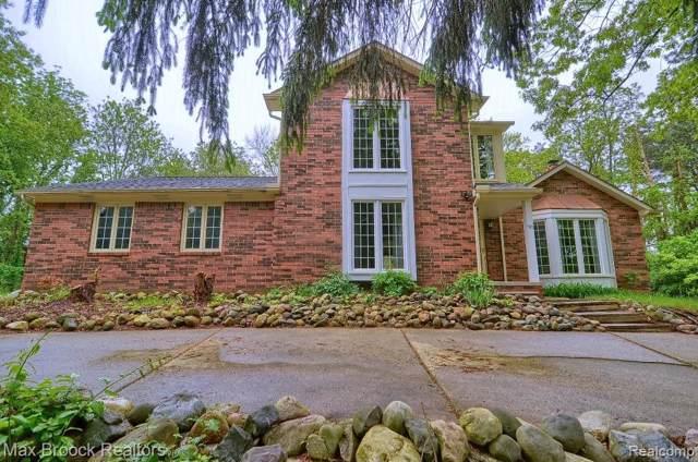 941 Pine Thistle Ln, Bloomfield Hills, MI 48302 (MLS #R219089376) :: The Toth Team