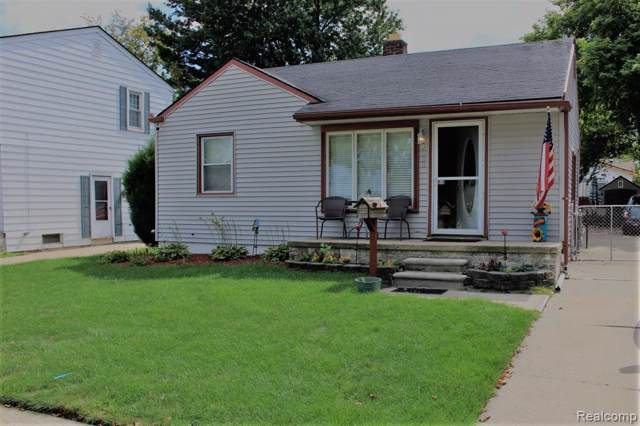 2033 London Ave, Lincoln Park, MI 48146 (MLS #R219092640) :: The Toth Team