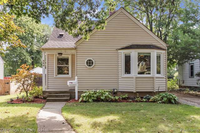 849 W Maplehurst St, Ferndale, MI 48220 (MLS #R219093432) :: The Toth Team