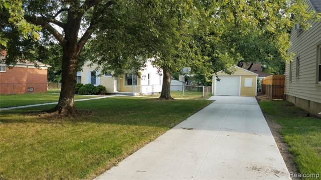 736 Cleveland Ave, Lincoln Park, MI 48146 (MLS #R219094089) :: The Toth Team