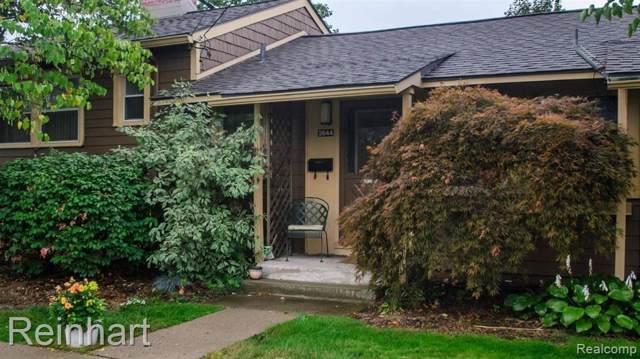 2644 Whitewood St, Ann Arbor, MI 48104 (MLS #R219094489) :: The Toth Team