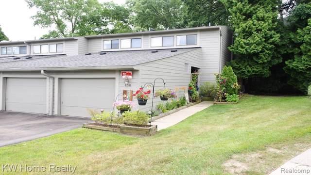 656 Peninsula Crt, Ann Arbor, MI 48105 (MLS #R219095558) :: The Toth Team