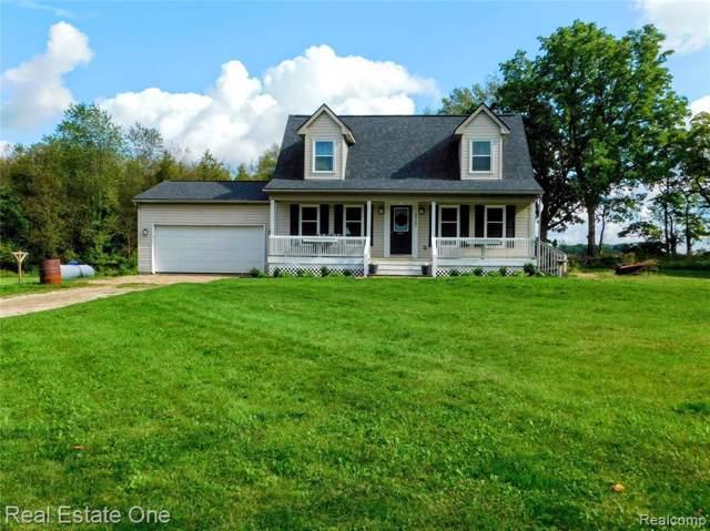 10121 W Coon Lake Rd, Webberville, MI 48892 (MLS #R219095841) :: Berkshire Hathaway HomeServices Snyder & Company, Realtors®