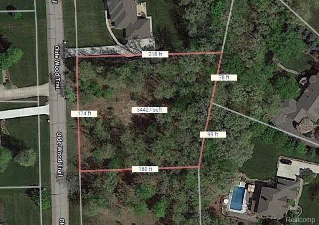 0 Olde Wood Trl, Fenton, MI 48430 (MLS #R219096096) :: Berkshire Hathaway HomeServices Snyder & Company, Realtors®