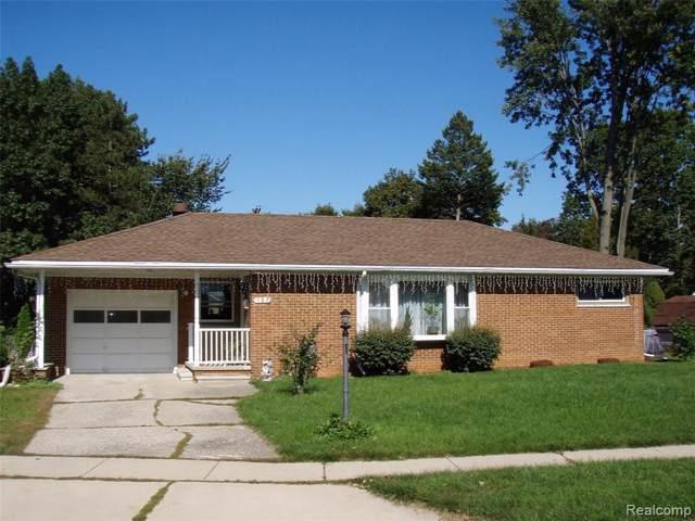 107 E Miller Ave, Milan, MI 48160 (MLS #R219104088) :: Berkshire Hathaway HomeServices Snyder & Company, Realtors®