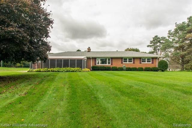 9460 Warner Rd, Saline, MI 48176 (MLS #R219105492) :: Berkshire Hathaway HomeServices Snyder & Company, Realtors®