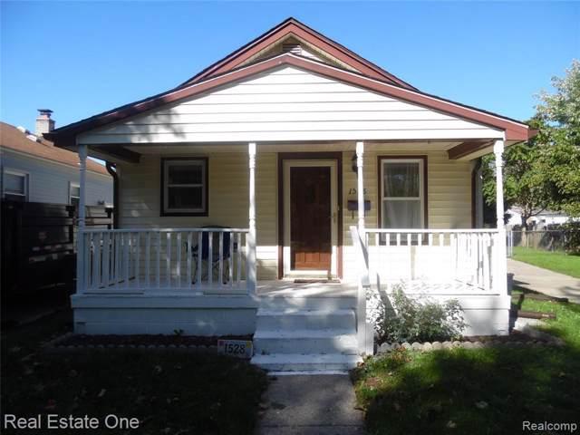 1528 New York Ave, Lincoln Park, MI 48146 (MLS #R219105602) :: Berkshire Hathaway HomeServices Snyder & Company, Realtors®