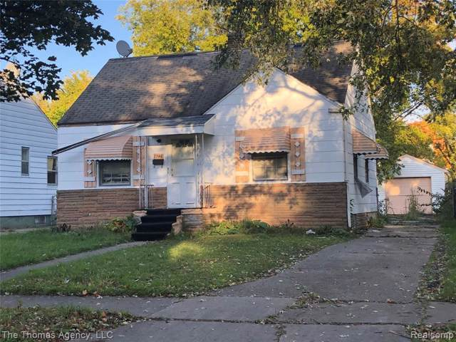 7746 Rosemont Ave, Detroit, MI 48228 (MLS #R219106984) :: Berkshire Hathaway HomeServices Snyder & Company, Realtors®