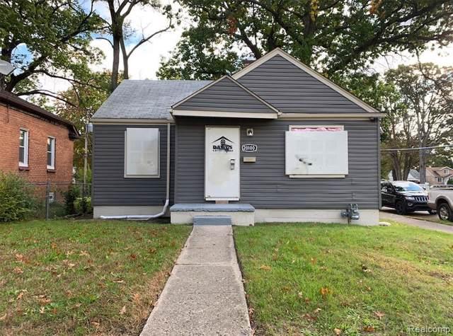 20100 Prairie St, Detroit, MI 48221 (MLS #R219107925) :: Berkshire Hathaway HomeServices Snyder & Company, Realtors®