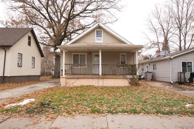 1421 George Ave, Hazel Park, MI 48030 (MLS #R219110851) :: Berkshire Hathaway HomeServices Snyder & Company, Realtors®