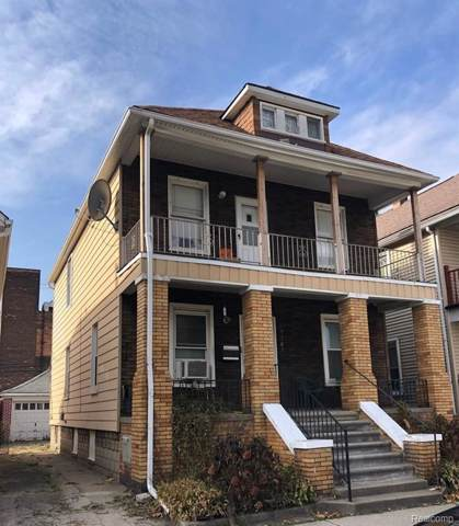 9503 Mitchell St, Hamtramck, MI 48212 (MLS #R219113715) :: Berkshire Hathaway HomeServices Snyder & Company, Realtors®