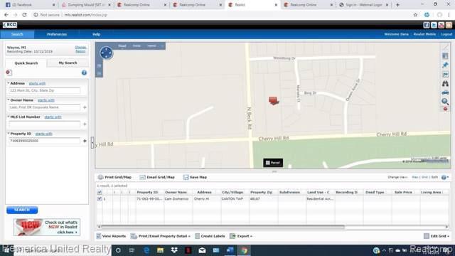 0 Cherry Hill Road, Canton, MI 48187 (MLS #R219115215) :: Tyler Stipe Team | RE/MAX Platinum