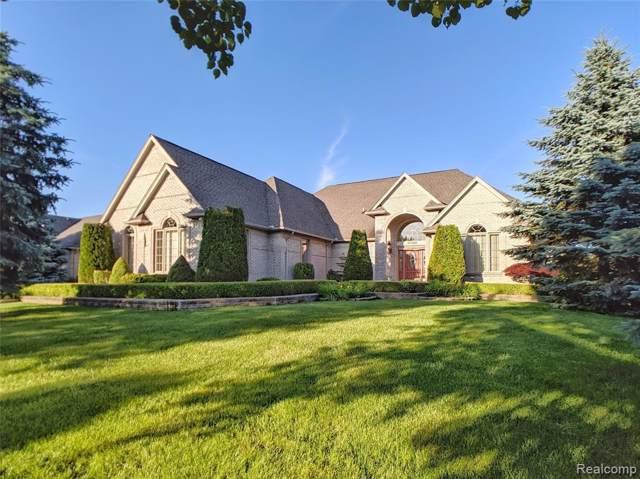 57548 Gala Dr, Washington, MI 48094 (MLS #R219115588) :: Berkshire Hathaway HomeServices Snyder & Company, Realtors®