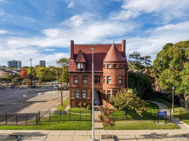2921 E Jefferson Ave, Detroit, MI 48207 (MLS #R219116276) :: Berkshire Hathaway HomeServices Snyder & Company, Realtors®