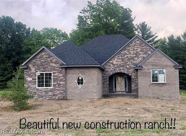 0 Tindall Road, Davisburg, MI 48350 (MLS #R219118193) :: Berkshire Hathaway HomeServices Snyder & Company, Realtors®