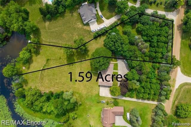 0 Tindall Road, Davisburg, MI 48350 (MLS #R219118196) :: Berkshire Hathaway HomeServices Snyder & Company, Realtors®
