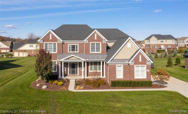 50748 Briar Ridge Ln, Northville, MI 48168 (MLS #R219119421) :: Berkshire Hathaway HomeServices Snyder & Company, Realtors®