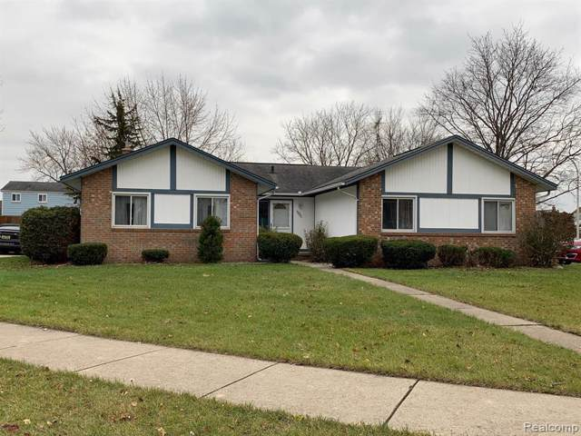 21995 Crosswick Crt, Woodhaven, MI 48183 (MLS #R219119673) :: Berkshire Hathaway HomeServices Snyder & Company, Realtors®