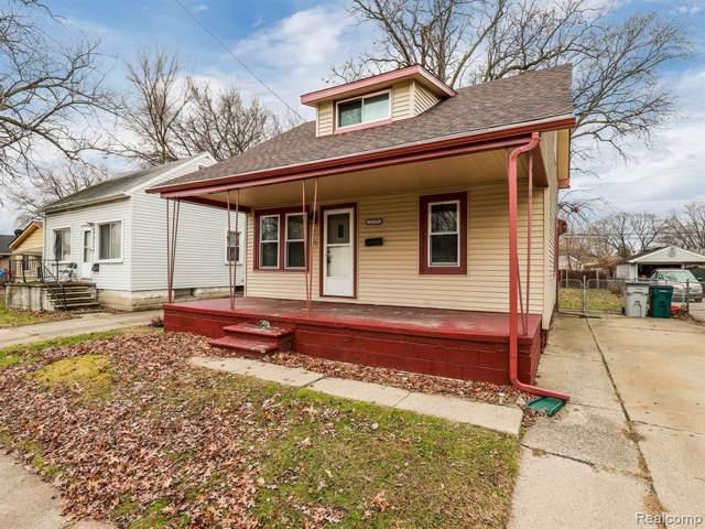 23119 Melville Ave, Hazel Park, MI 48030 (MLS #R219119872) :: Berkshire Hathaway HomeServices Snyder & Company, Realtors®